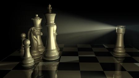 Chess lighthouse