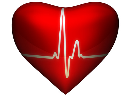 circulate: Heart with cardio line on it
