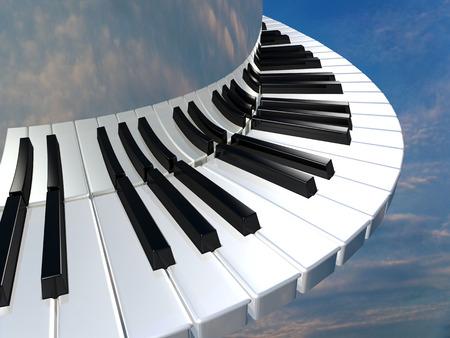 Amazing piano keys