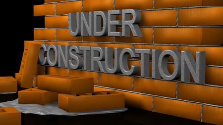 Site under construction photo