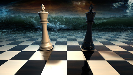 Confrontation.