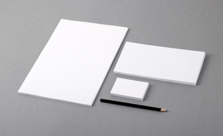 corporate identity: Template for branding identity.