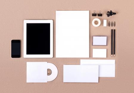 Шаблон для брендинга идентичности. Для графических дизайнеров презентаций и портфелей.