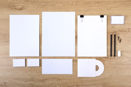 Template for branding identity.