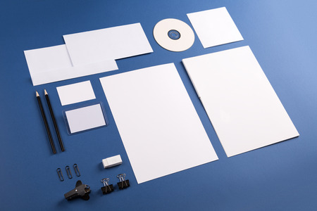 Template for branding identity. For graphic designers presentations and portfolios. photo
