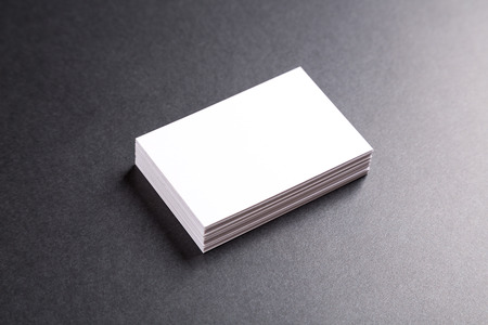 pile of paper: Photo of business cards. Template for branding identity. For graphic designers presentations and portfolios