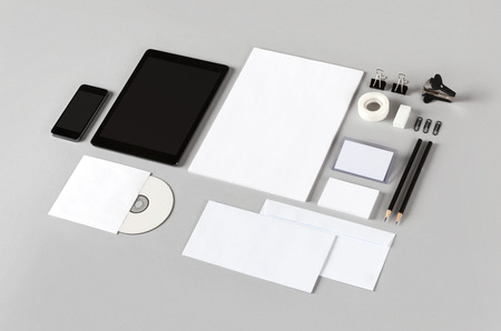Photo. Template for branding identity. For graphic designers presentations and portfolios. photo