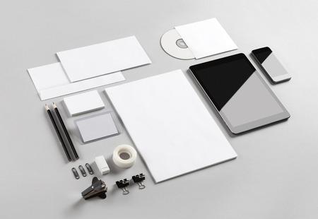 papírnictví: Photo. Šablona pro branding identity. Pro grafické designéry prezentací a portfolia. Reklamní fotografie