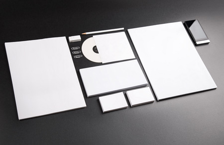Photo. Template for branding identity. For graphic designers presentations and portfolios. Standard-Bild