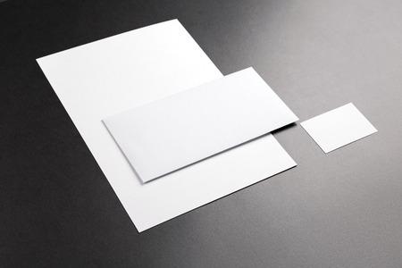 Foto. Sjabloon voor branding identiteit. Voor grafisch ontwerpers presentaties en portefeuilles.