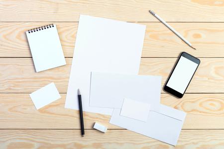 envelopes: Template for branding identity