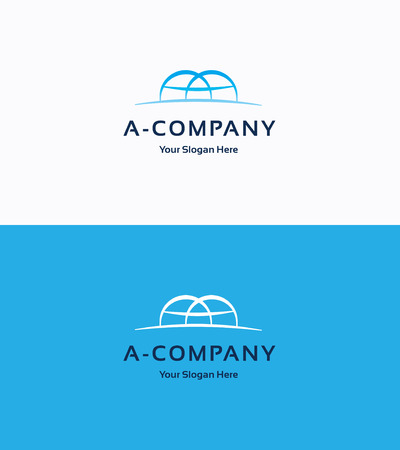 brand logo: A-Company flat traditional logo