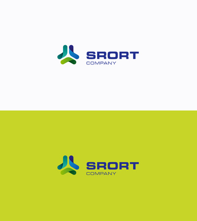Boomerang network sport logo Illustration