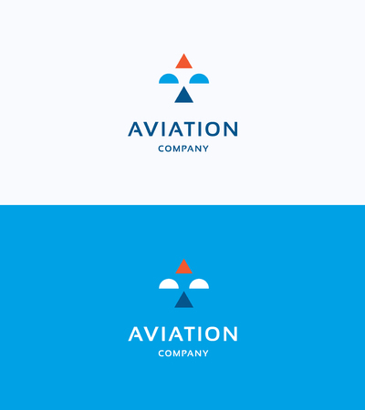 air travel: Aviation Company Logo