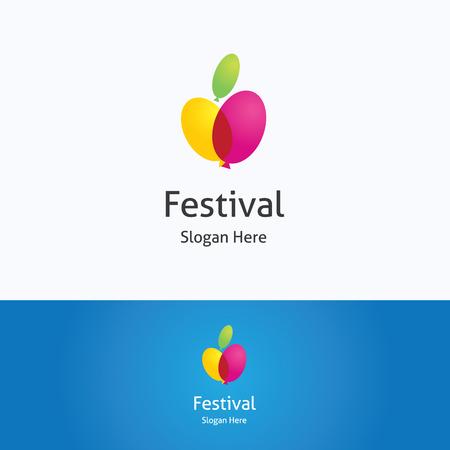 apple computers: Festival apple, balloon, heart logo