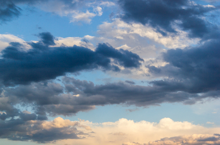 natural moody: sky clouds dark background overcast Stock Photo