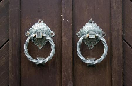 door knob: door knob ring old