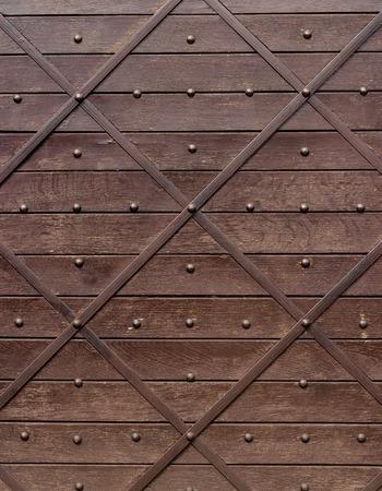cerrar la puerta: ornamentales de madera de metal texrure