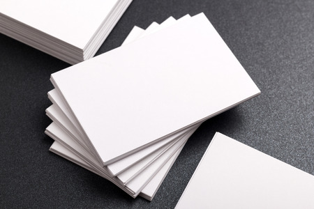paper stack: Photo of business cards. Template for branding identity. For graphic designers presentations and portfolios. Business Card, business, business, card, mock-up, mock up, mockup