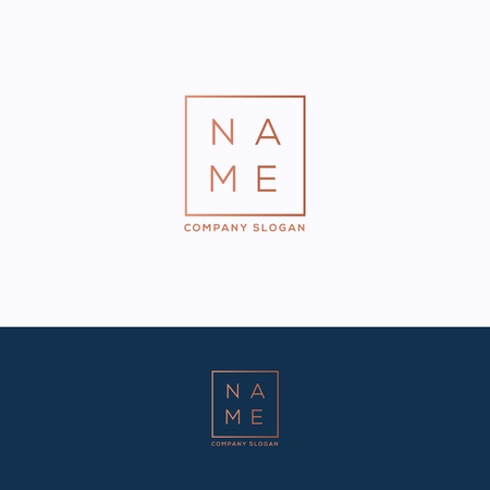 Name icon template