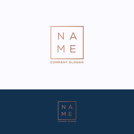 Name icon template