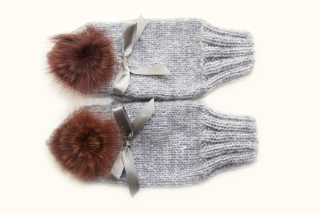 Woollen mittens Stock Photo - 16388833