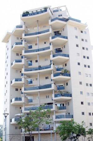 Modern apartment house. photo