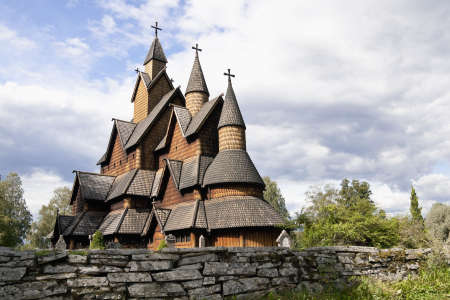 Heddal Stave Church is Norway's biggest stave Church. It was built ca. 1250.