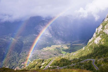 Norway. View of Lysefjord.