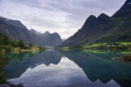 Oldedalen valley - one of the most spectacular areas of natural beauty in Norway