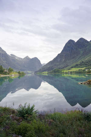 jostedal: Oldedalen valley - one of the most spectacular areas of natural beauty in Norway