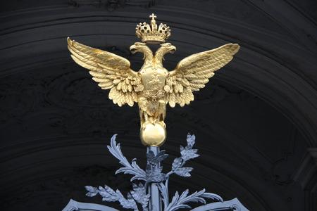 double headed: Double-headed eagle, Saint Petersburg, Russia