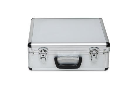 aluminum: aluminum case Stock Photo