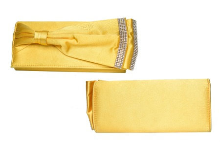 clutch: yellow clutch with bow and diamonds