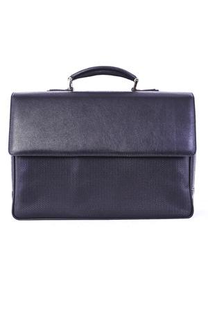 portmanteau: black handbag on a white background