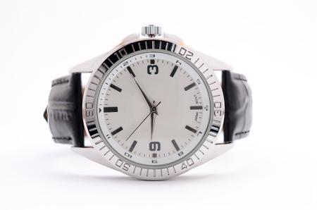 wristwatch: wristwatch on white background Stock Photo