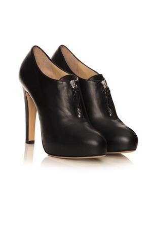black jack: black jack boots on a white background