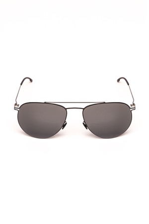 spectacle frame: sunglasses on a white background