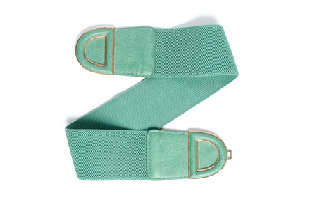 elastic band: Womens belt with an elastic band