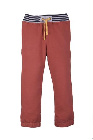 nether: orange pants isolated  on a white background