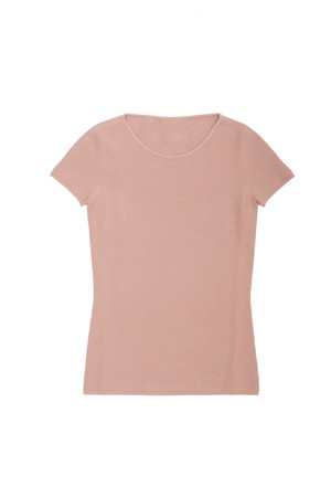 pink T-shirt on a white background