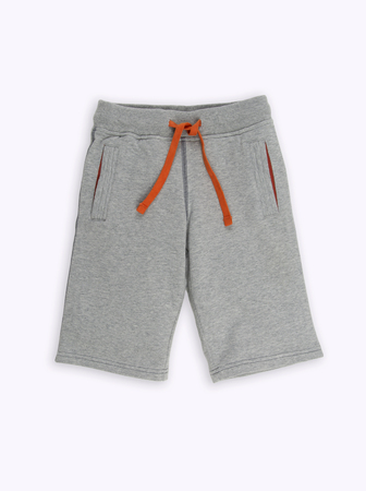 nether: baby gray shorts on a white background