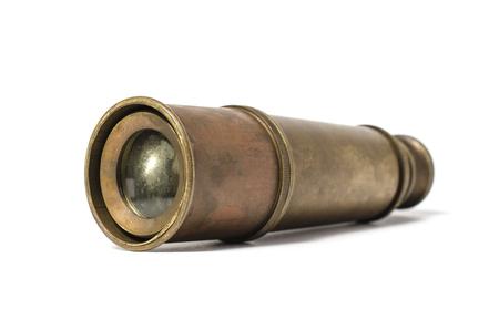 monocular: antique telescope
