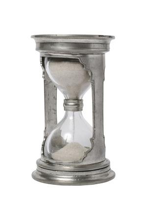 ironwork: classic iron sandglass Stock Photo
