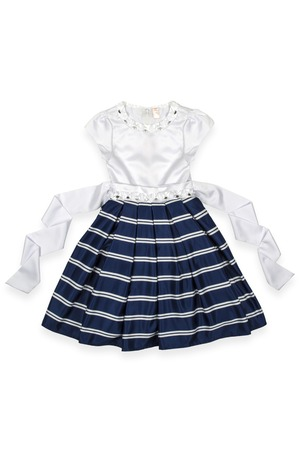 habiliment: baby dress on a white background Stock Photo