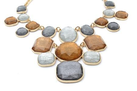 pietre preziose: Collana con pietre preziose