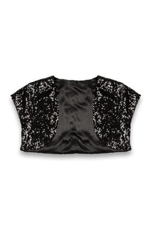 habiliment: bolero baby jacket on a white background Stock Photo