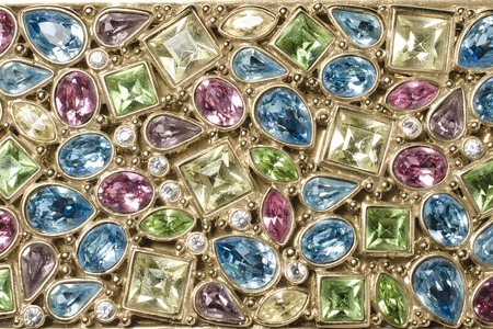 texture of precious stones