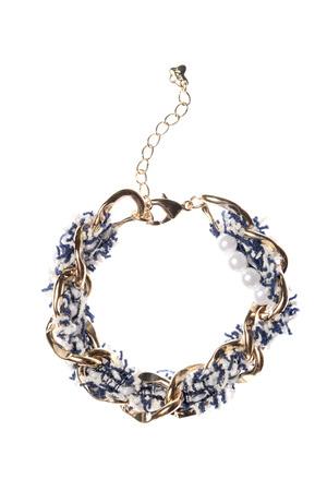 armlet: Womens bracelet on a white background
