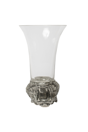 unusual: unusual glass with a tiger head